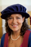 Broadcaster Sarah Dickins receives honorary fellowship